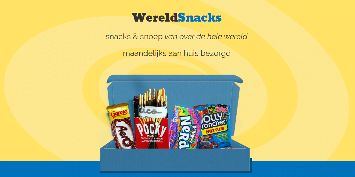 Wereldsnacks Homepage